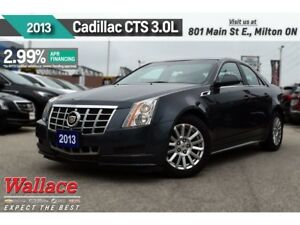 2013 Cadillac CTS 2.99% FINANCE UP TO 60MNTHS/V6/HTD SEATS/RMOT