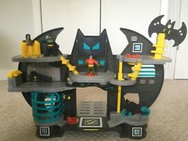 Imaginext DC Super Friends, Batman Batcave Playset, Fisher-Price X7677