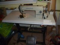 WALKING FOOT INDUSTRIAL HIGHLEAD SEWING MACHINE( Ideal for Hand bags, upholstery,),