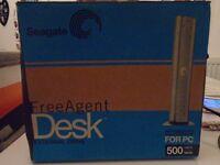 Seagate Freeagent Desk external hard drive