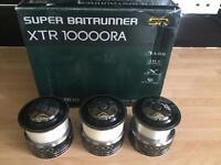 Xtr 10000ra spare spools, carp fishing reels