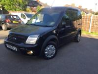 Ford Transit Connect Black 2009 Low Mileages