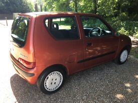 Fiat Seicento 900, 52k, Family owned since new