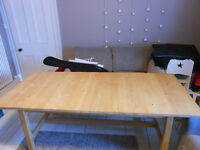 Ikea NORDEN Furniture. Extendable Dining Table, Sideboard, Benches & 2 Small Dining Tables