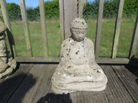 Buddha Garden Ornament - Weathered Nicely