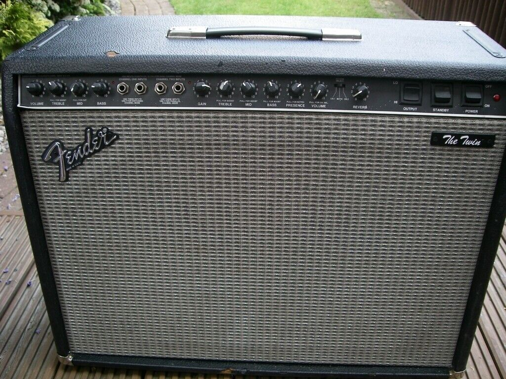 fender The twin electric guitar amplifier - 100watts - 2 x 12