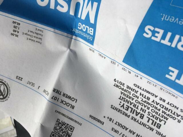 Bill Bailey tickets x2 | in Newton Aycliffe, County Durham | Gumtree
