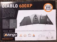 Vango Diablo 600 XP, family 3 room tent