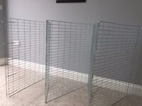 Puppy Playpen, top quality, easily adjusted to any shape required.