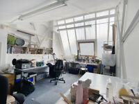 Designer/ artist studio (22sqm) available in a creative workspace with workshop in Tottenham Hale