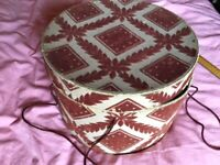 COLLECTABLE VINTAGE HAT BOX