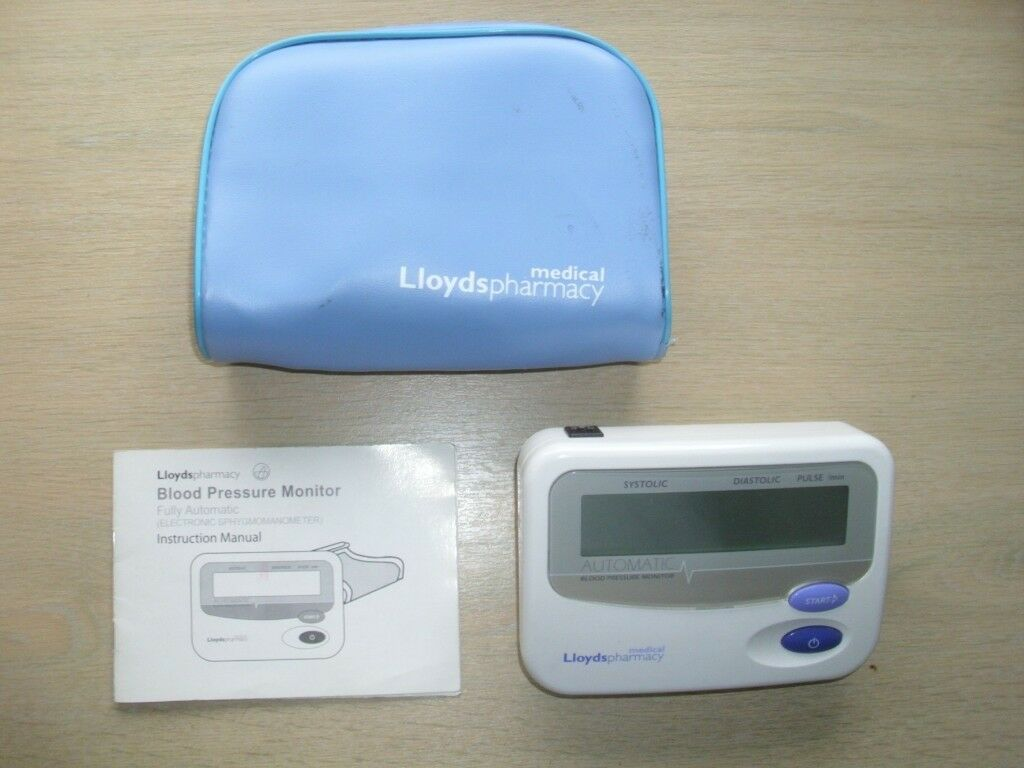 Blood Pressure Monitor By Lloyds Pharmacy In Cambridge