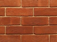 Soft Red Rubber Brick | Old Reclaim Style | Genuine Handmade Clay | PACK OF 10