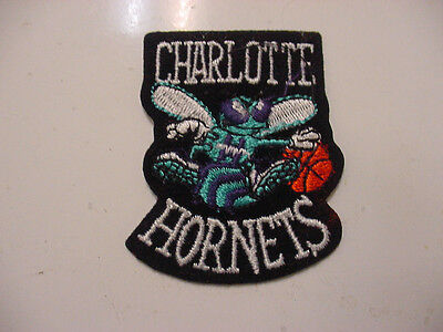 Lot Of 4 Vintage Nba Charlotte Hornets Embroidered Iron On Patch  1980S