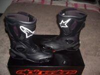 motorcycle boots alpinestars