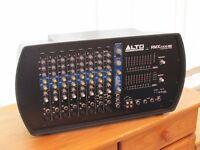 Alto 2000 watt powered mixer