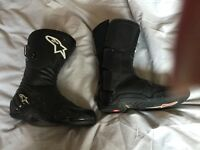 Alpine stars motorcycle boots