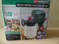 PARKSIDE PAINT SPRAY GUN PFS 100 BRAND NEW