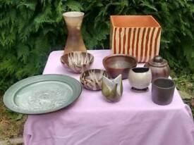 Selection of artistic ceramics