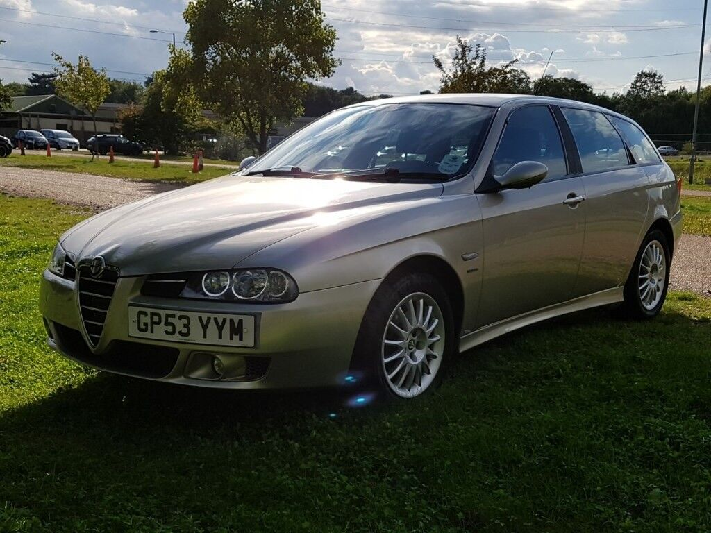 Alfa Romeo 156 Sportswagon 2.0 JTS Veloce - low miles, history, excellent  condition.