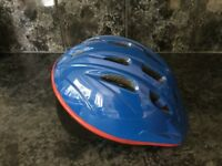 Child's Bike Helmet, Blue, Adjustable