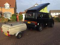 Complete camper Mazda bongo camper van professional conversion full side kitchen rock roller bed