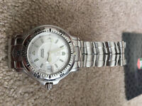 Tag Heuer 6000 Series. Men's Professional Stainless Steel Watch.