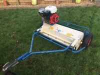 Wessex Grass Flail Mower Topper - Quad/Compact Tractor