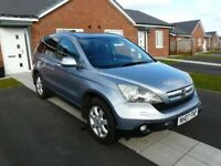 HONDA CR-V ES I-CTDI 2.2. Silvery/Blue colour, Excellent condition, 105000 miles.