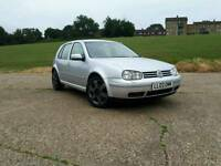 VW GOLF 2.3 V5 5DR *LONG MOT* *SERVICE HISTORY* *HEATED RECARO SEATS*