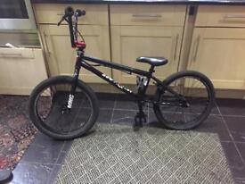 Bmx stunt bike customised