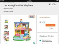 Doc mcstuffin clinic playhouse and much more