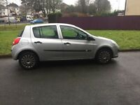 Renault Clio 57reg New shape,ideal 1st car low insurance group ,12 months MOT,px options available