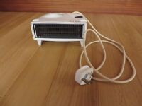 Electric Convecter Cold Fan & Heater, Brand Glen, White.