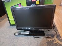 tv 19 inch hd ready freeview with dvd player