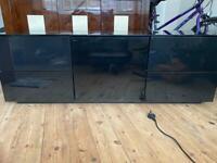 Black Gloss TV cabinet 55 - 60 inch TV