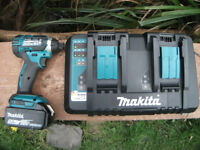 Double Makita DC18SD 7.2v - 18v Lithium Li Ion NiCd NiMh Rapid Intelligent Charger! £50 No offers!