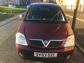 VAUXHALL MERIVA AUTOMATIC 2004 FULL YEAR MOT EXCELLENT CONDITION