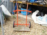 barrow for two gas bottle cylinders used but good condition