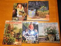 5 x Gardening Books…including 2 x Ground Force ones…Charlie Dimmock…