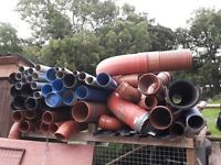 Various drainage pipes