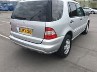 2003 Mercedes benz ml 350 petrol automatic 3.5 7 seater mpv cheap bargain
