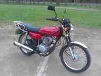 Learner Legal Honda CG125 (COPY) 2013 reg new MOT