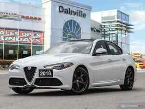 2018 Alfa Romeo Giulia | AWD | FORMER CO CAR | NAV | SUNROOF | R