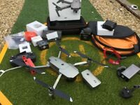 DJI Mavic Pro Platinum Drone with extras - used just once. Amazing!