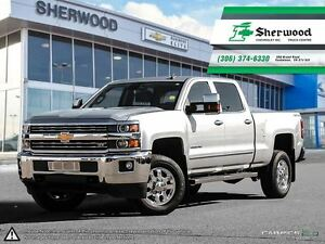 2015 Chevrolet SILVERADO 2500HD LTZ Local One Owner PST PAID Tra