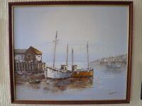 Various Maritime paintings £10 each