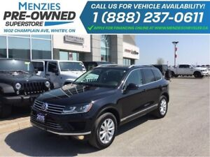 2015 Volkswagen Touareg Execline AWD, Diesel, ONE OWNER, Clean C