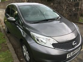 Nissan Note Acenta DIG-S CVT 5dr Automatic, Grey, Air Conditioning, Mileage: 62134 Reg Date: 8/10/14