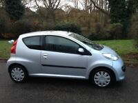 PEUGEOT 107 URBAN 1.0 £20 A YEAR ROAD TAX-CLEAN RELIABLE CAR WITH SERVICE HISTORY-CHEAP TO INSURE